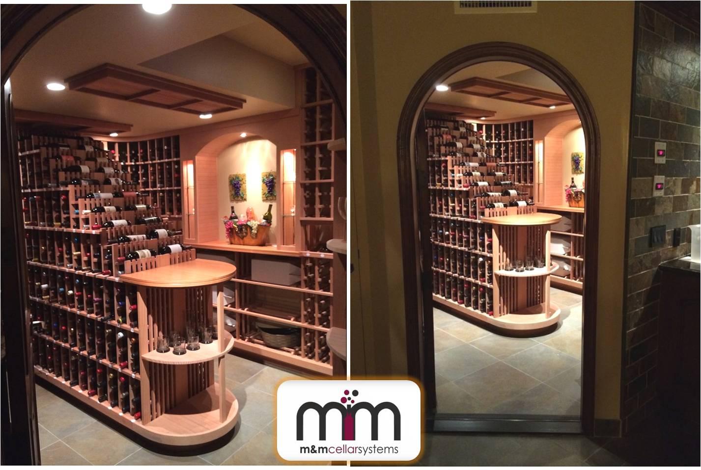 Wine Cellar Refrigeration Installation Project in Bel Air, Miami, FL