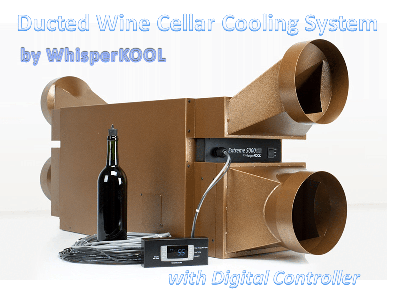 Ducted Wine Cellar Cooling Systems
