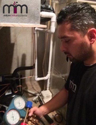 Servicing Wine Cellar Refrigeration Systems - Miami Service Plans & Preventive Maintenance