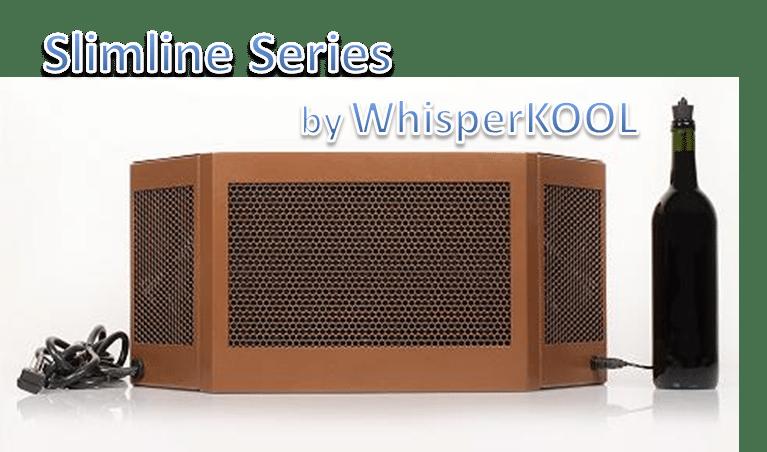 WhisperKOOL Slimline Wine Cellar Cooling Unit