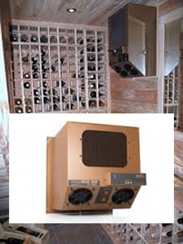 Ductless Split Wine Cellar Cooling Systems