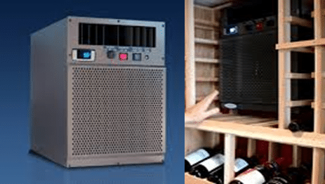 Self-Contained Wine Cellar Cooling Unit
