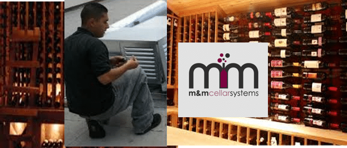 Wine Cellar Cooling Installation by M&M