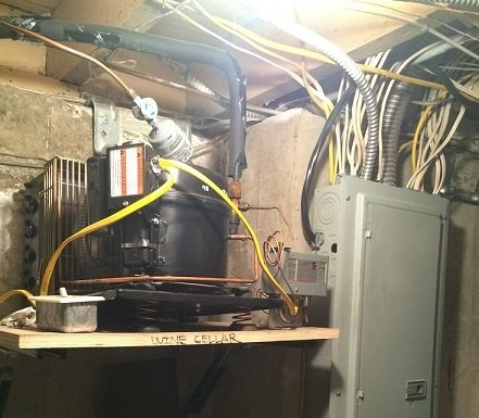 The Old Wine Cellar Cooling System