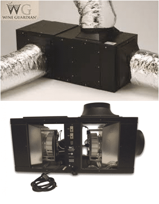 Ducted Wine Cellar Refrigeration Systems
