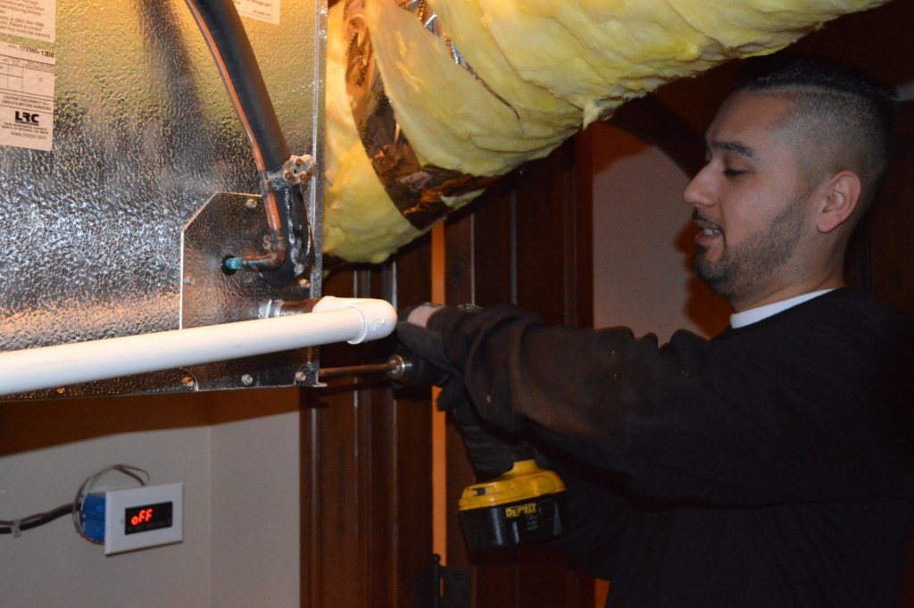 A Leaking Wine Cellar Refrigeration Unit was Repaired by the Best HVAC Servicing Company in Miami and Fort Lauderdale