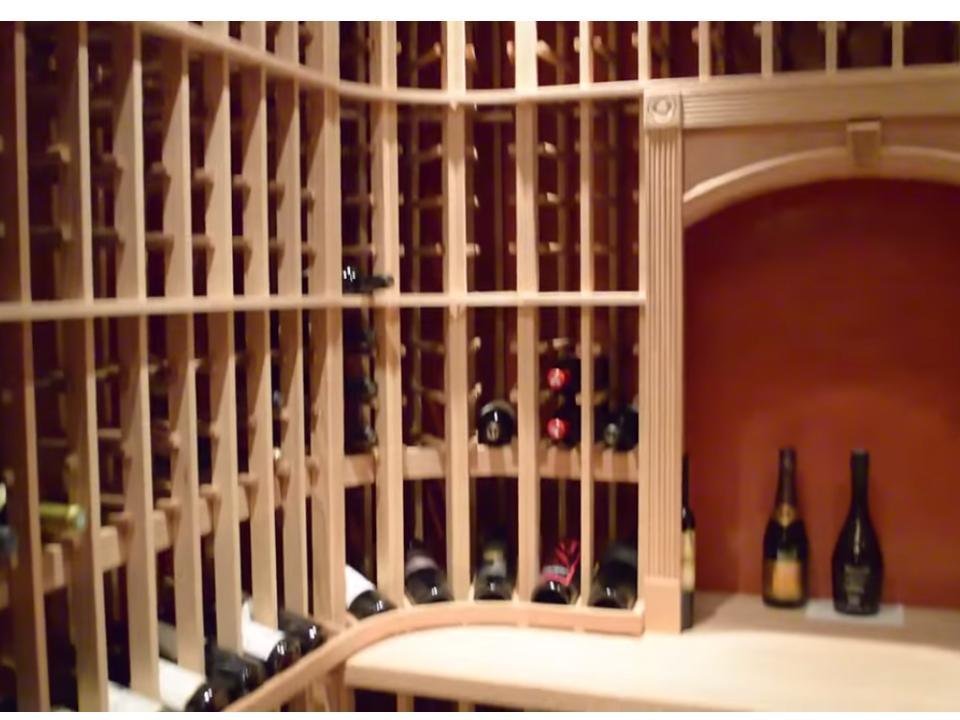Beautifully Designed Residential Custom Wine Cellar in Las Olas Beach, Fort Lauderdale, Florida