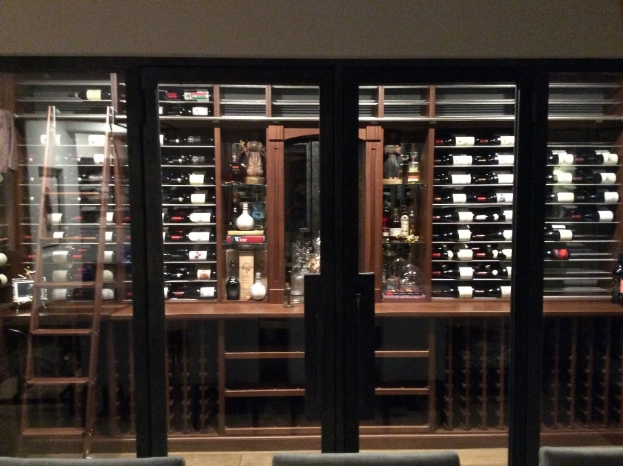 Awesome Custom Wine Cellar Cooling Unit Installation Project in Fort Lauderdale