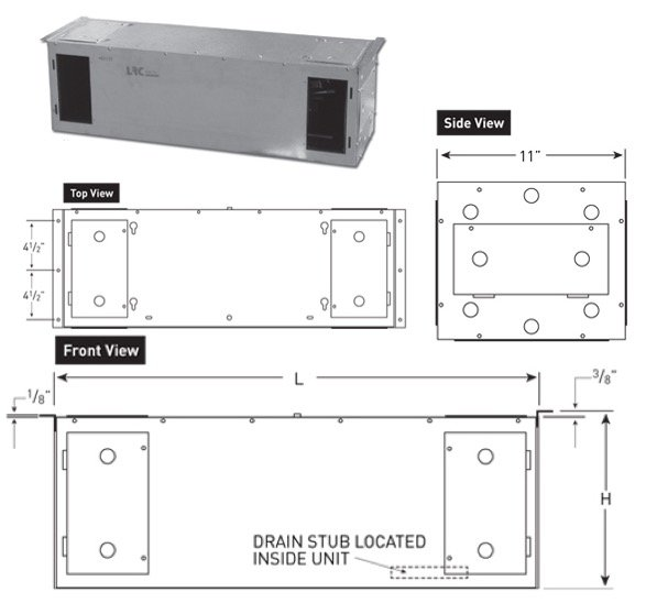RM Series - Rack Mounted - Wine Cellar Cooling Unit by US Cellar Systems