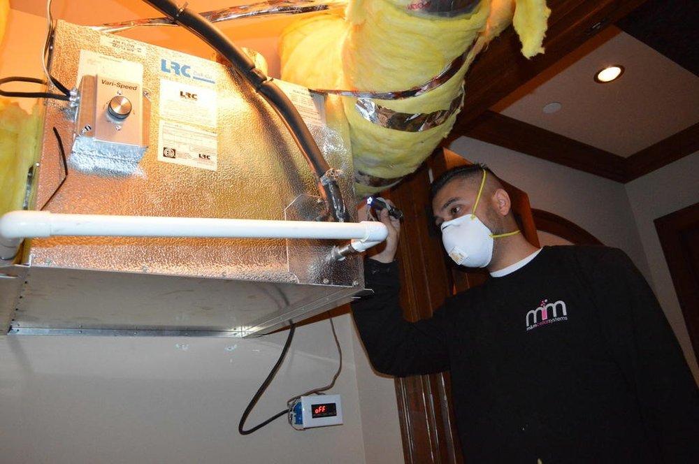 M&M Wine Cellar Refrigeration Installation Miami
