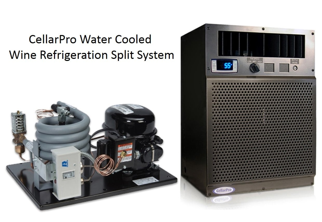 CellarPro Water Cooled Wine Refrigeration Split System
