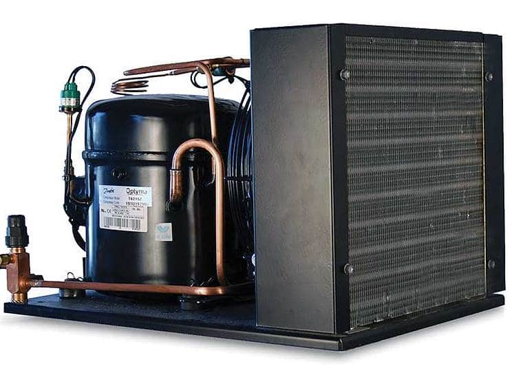 CellarPro Wine Cellar Refrigeration Split Systems Have Large Coils