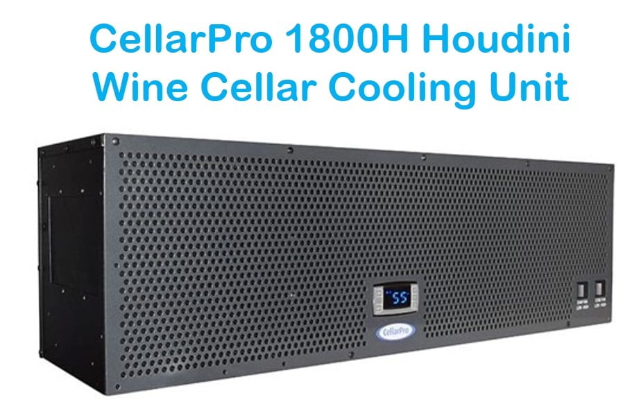 CellarPro 1800H Houdini Wine Cellar Refrigeration Unit: a Quiet Self-Contained System