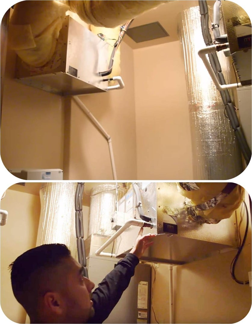 M&M Cellar Systems Servicing a Residential Wine Cellar in Miami