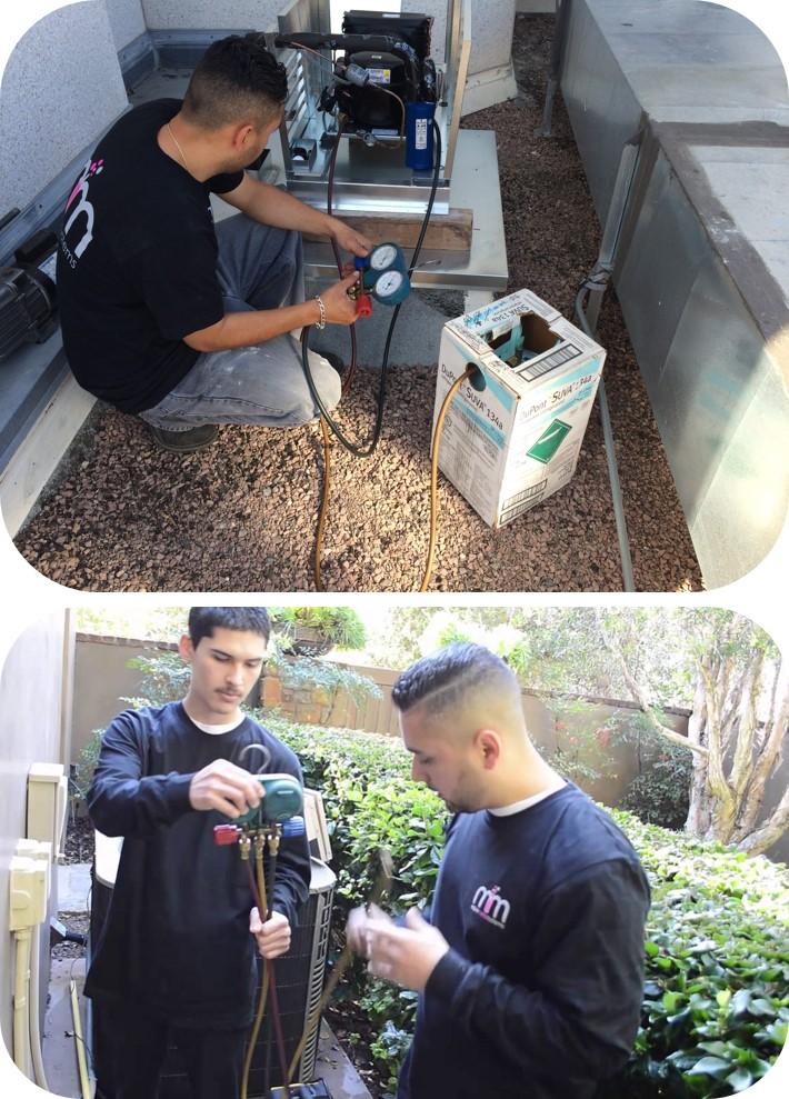 Residential Wine Cellar Refrigeration System Condenser Repair