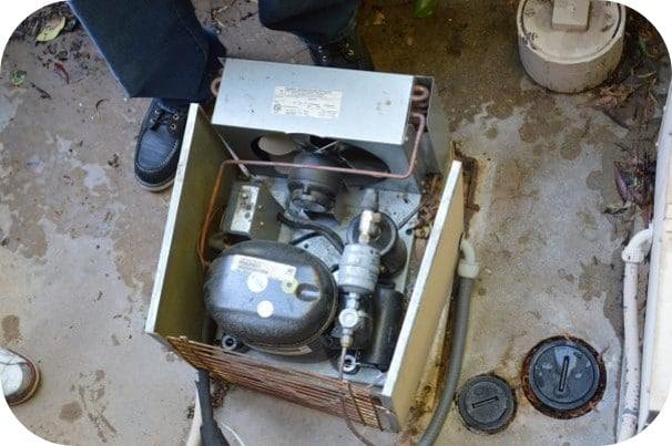 Residential Wine Cellar Refrigeration Unit Condenser Repair Service