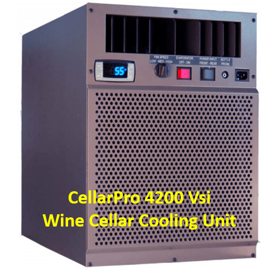 CellarPro Vsi Self-Contained Wine Cellar Cooling Unit Installation by Miami Refrigeration Experts
