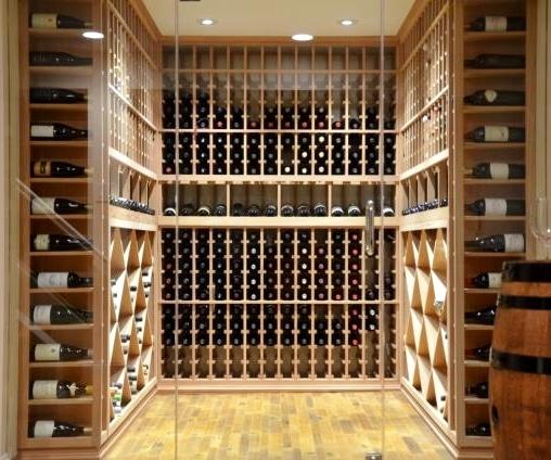 Custom Wine Cellar Design and Cooling unit Installation