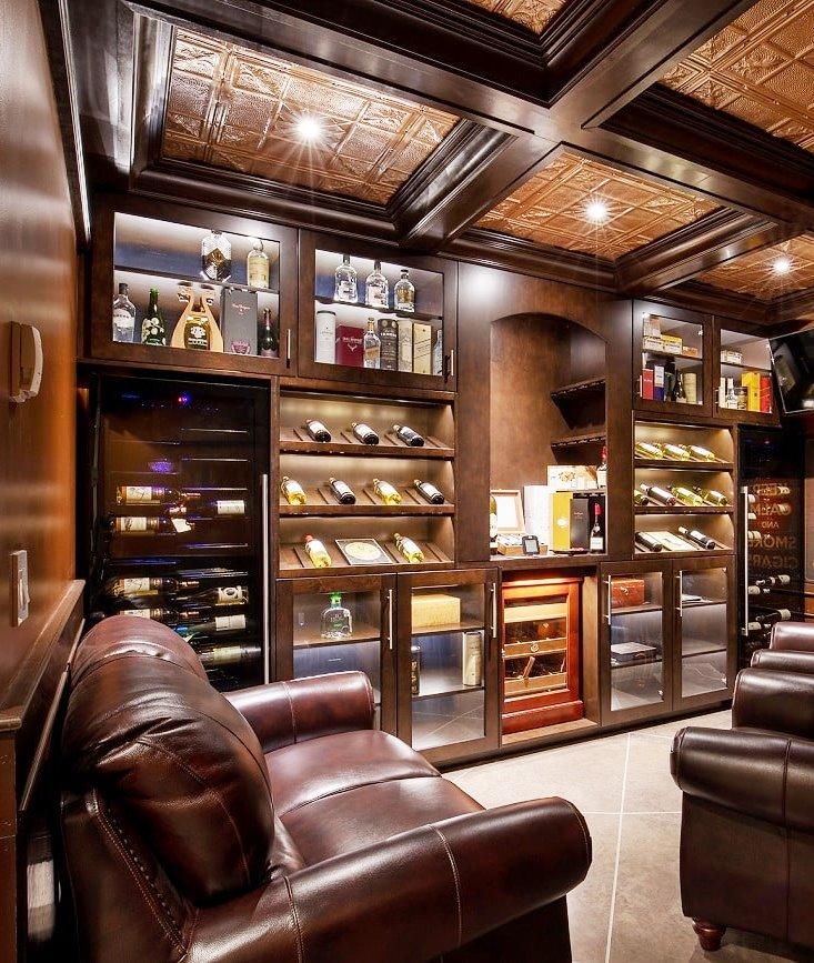 Custom Wine Cellar refrigeration